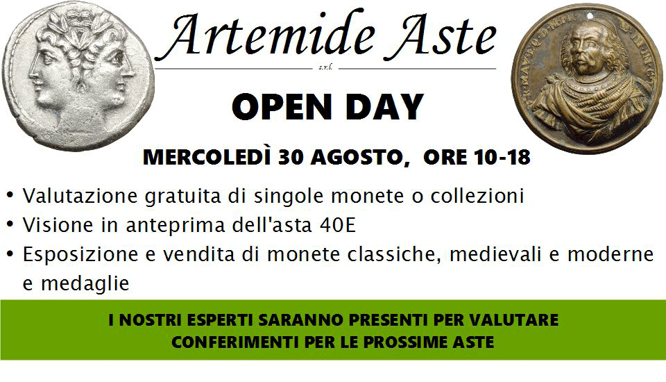 Artemide Aste Open Day